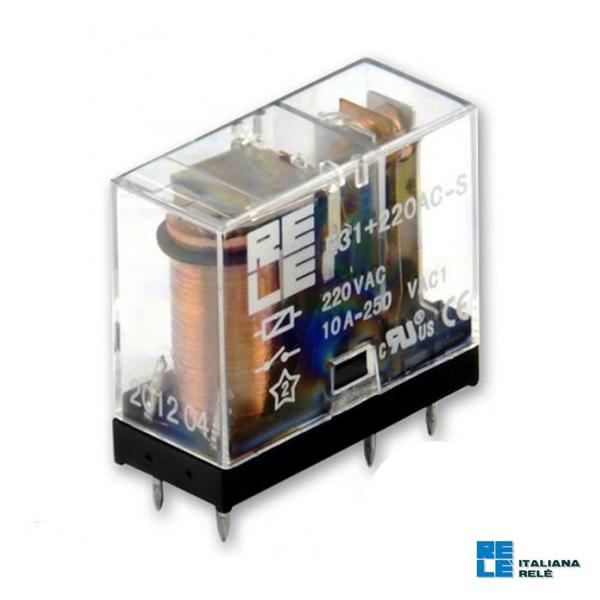 تصویر رله شیشه ای E52-220V AC سری E ایتالیانا رله