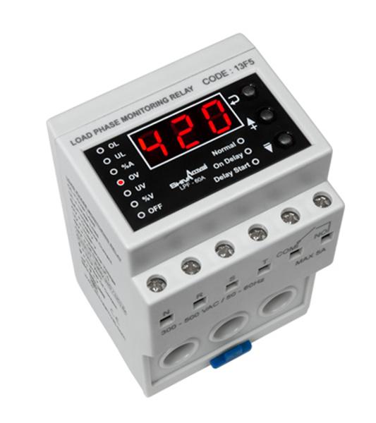 تصویر کنترل فاز-بار ۱ تا ۶۰ آمپر شیوا امواج
